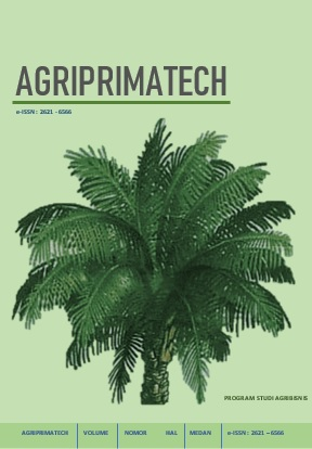 View Vol. 2 No. 1 (2018): Agriprimatech